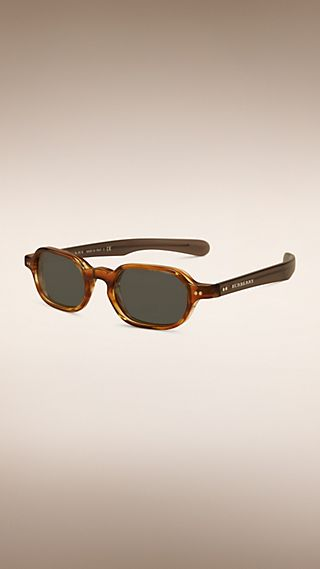 The Scholar Rectangular Frame Sunglasses