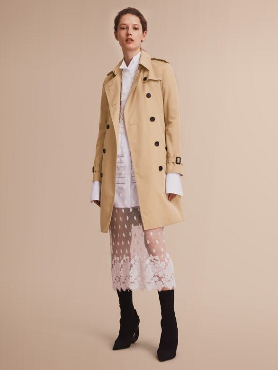 Trench coat Kensington - Trench coat Heritage largo Miel