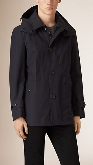 Showerproof Cotton Blend Jacket