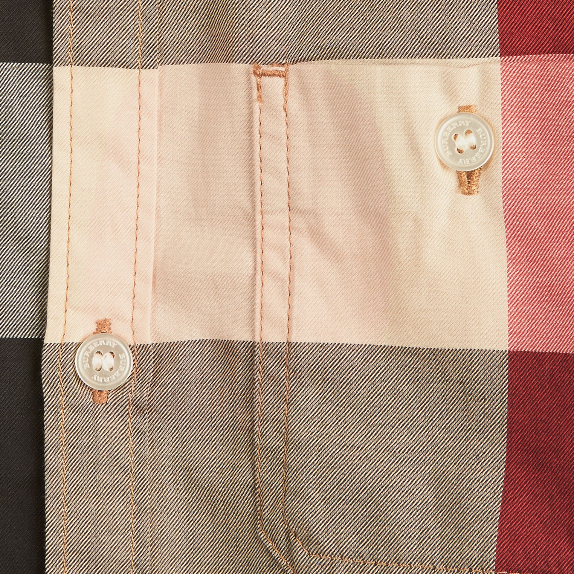 Check Cotton Shirt in New Classic - Boy | Burberry United States - gallery image 1