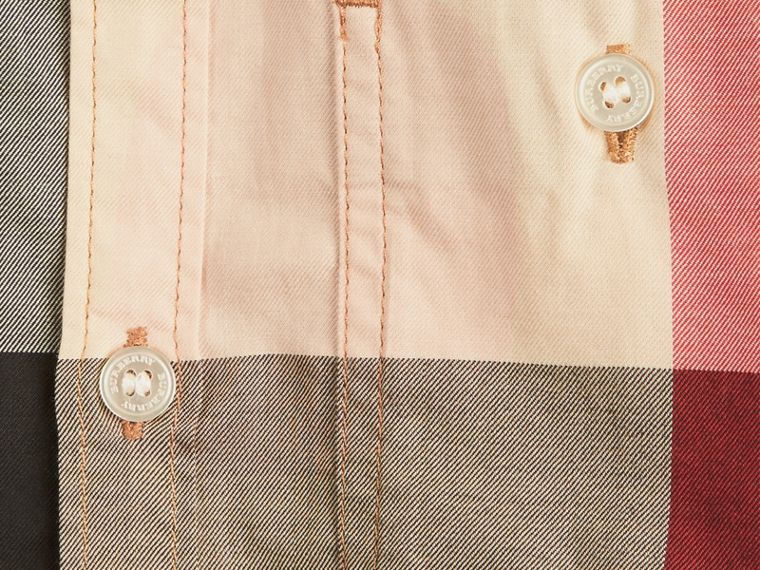 Check Cotton Shirt in New Classic - Boy | Burberry United States - cell image 1