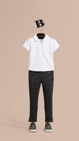 Legging extensible avec poches zippées