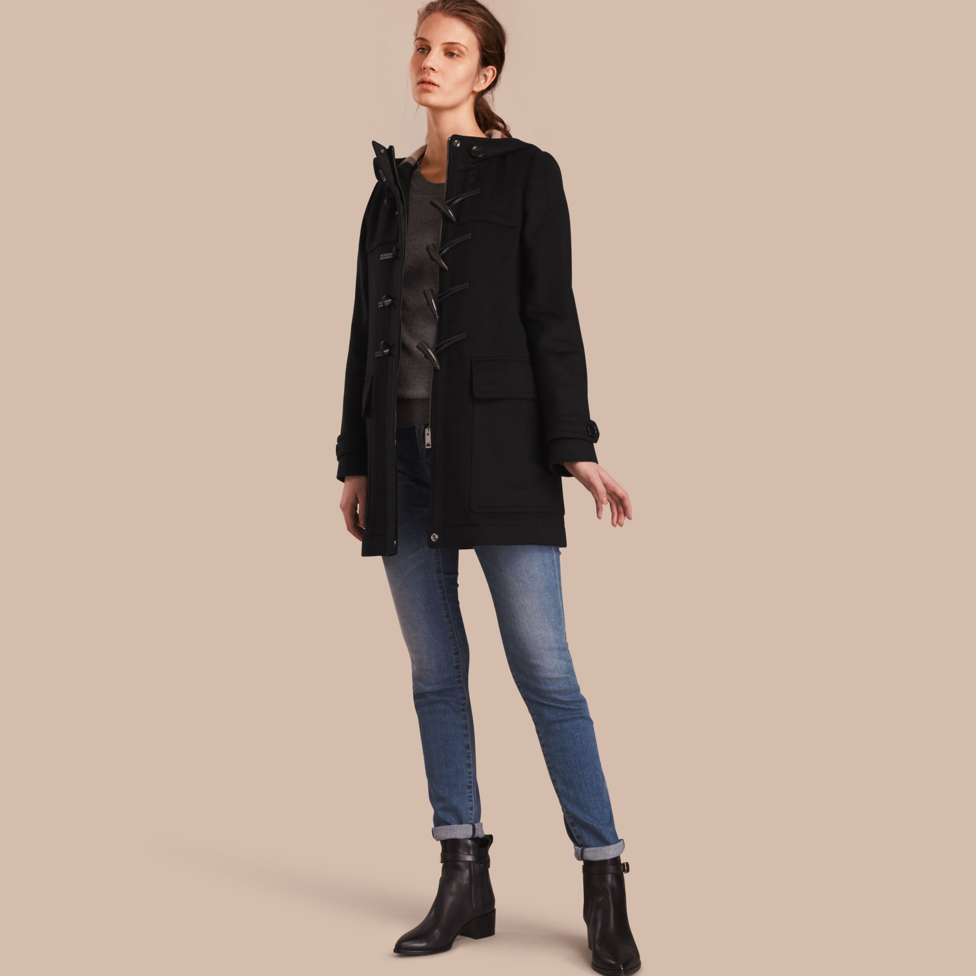 Wool Duffle Coat - gallery image 1