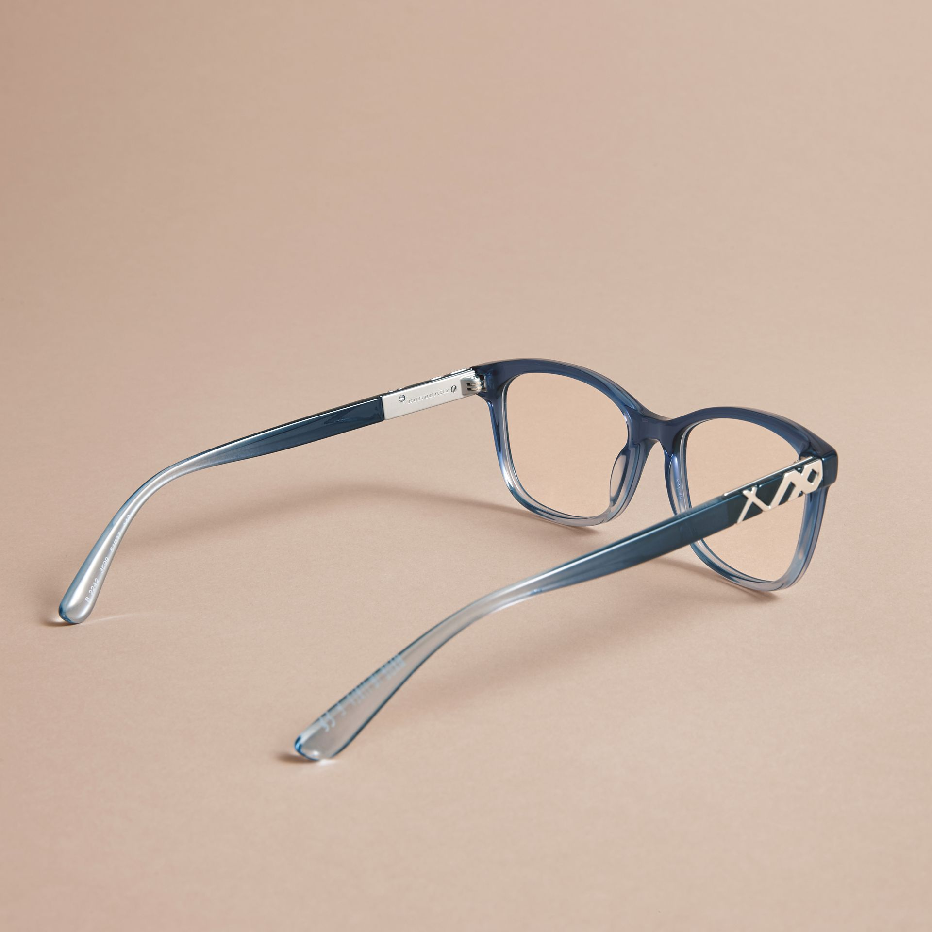 Check Detail Square Optical Frames - gallery image 4