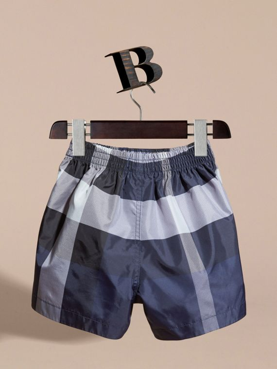 Check Technical Swim Shorts | Burberry - cell image 3