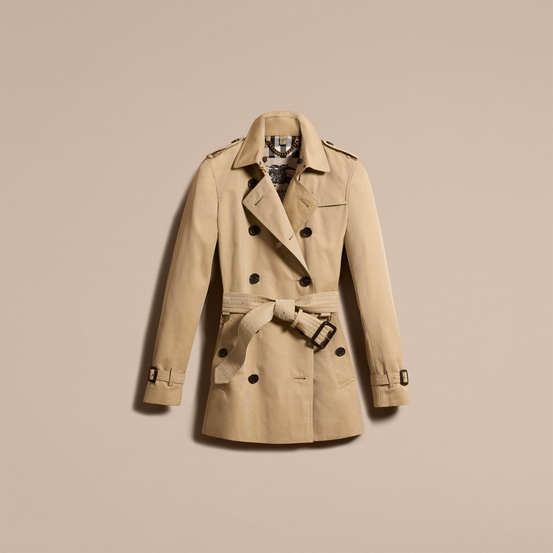 Mel The Kensington - Trench coat Heritage curto Mel - galeria de imagens 4