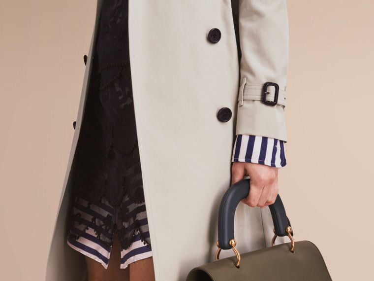 The Kensington – Extra-long Heritage Trench Coat in Stone - cell image 4