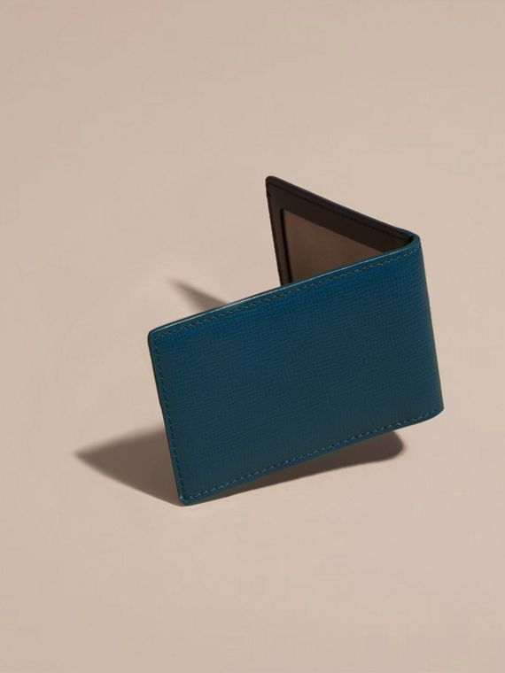 Mineral blue London Leather ID Wallet Mineral Blue - cell image 3
