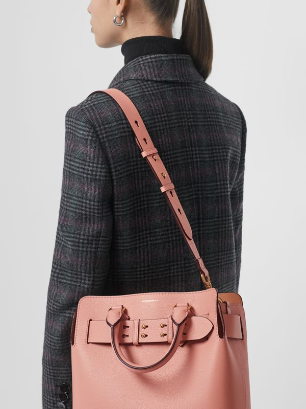 The Small Leather Belt Bag in Ash Rose - Women | Burberry - cell image 3