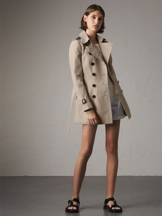 The Chelsea - Trench coat Heritage corto (Pietra)
