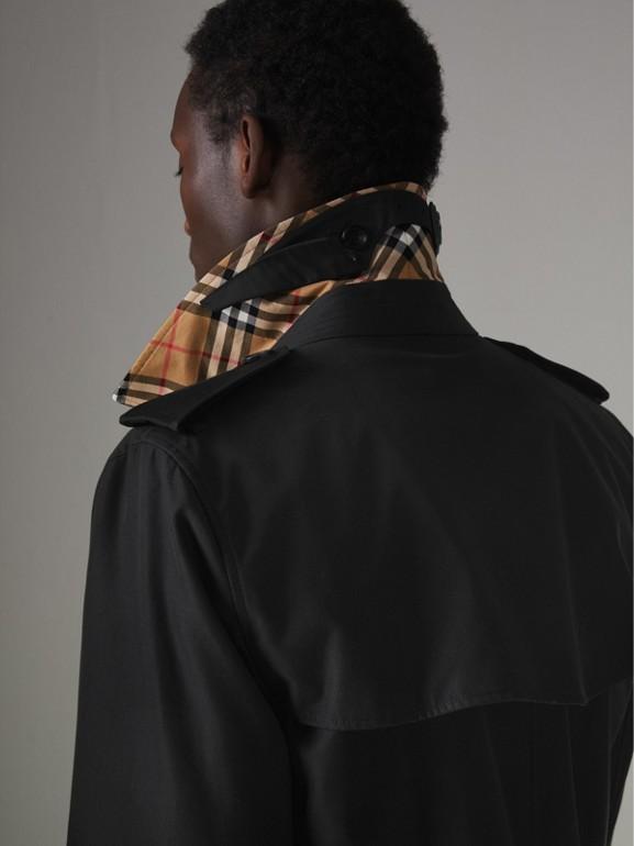 Trench coat Heritage The Kensington (Nero) - Uomo | Burberry - cell image 1