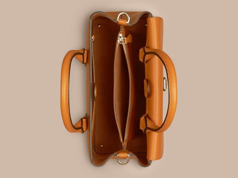 Коньячный Сумка Saddle из зернистой кожи Коньячный - cell image 4