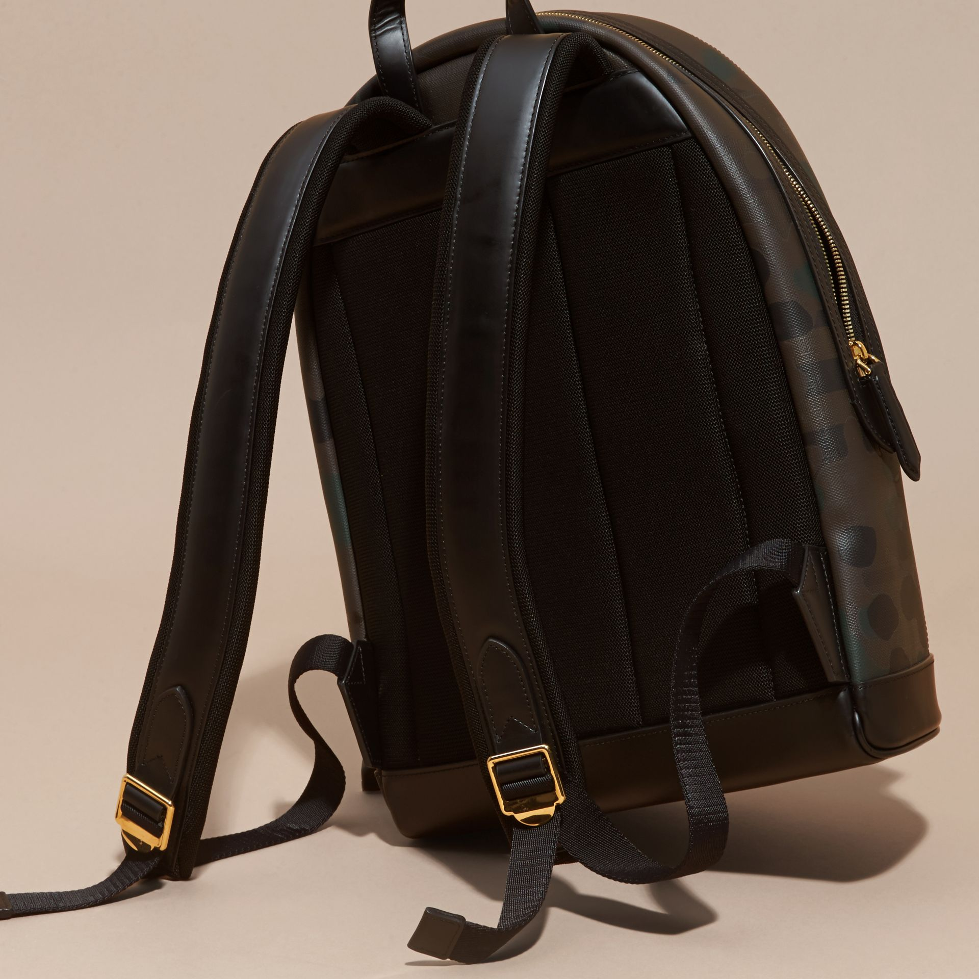 Chocolate Camouflage Print Backpack - gallery image 4