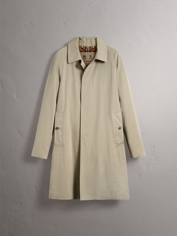 The Camden – Long Car Coat in Sandstone - Men | Burberry - cell image 3