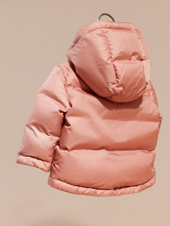 Light copper pink Reversible Puffer Coat Light Copper Pink - cell image 3