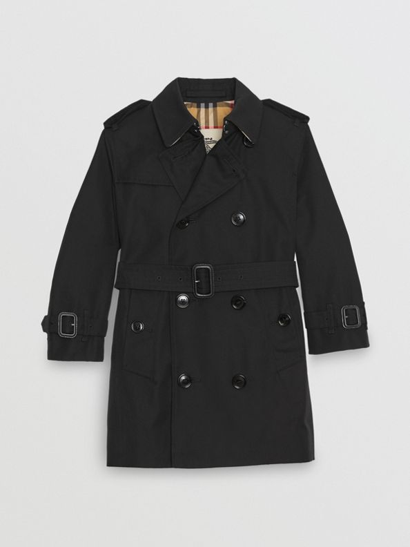 The Sandringham Trench Coat in Black