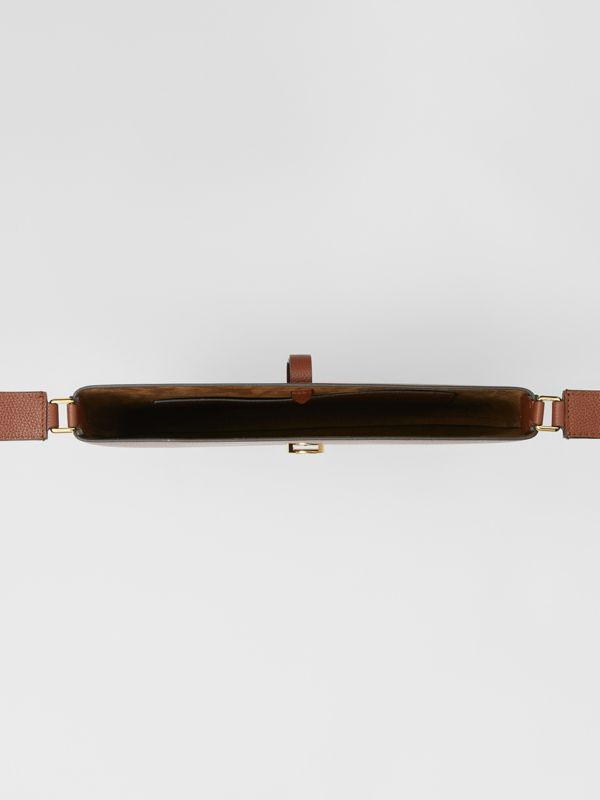 Grainy Leather Anne Bag in Tan - Women | Burberry - cell image 3