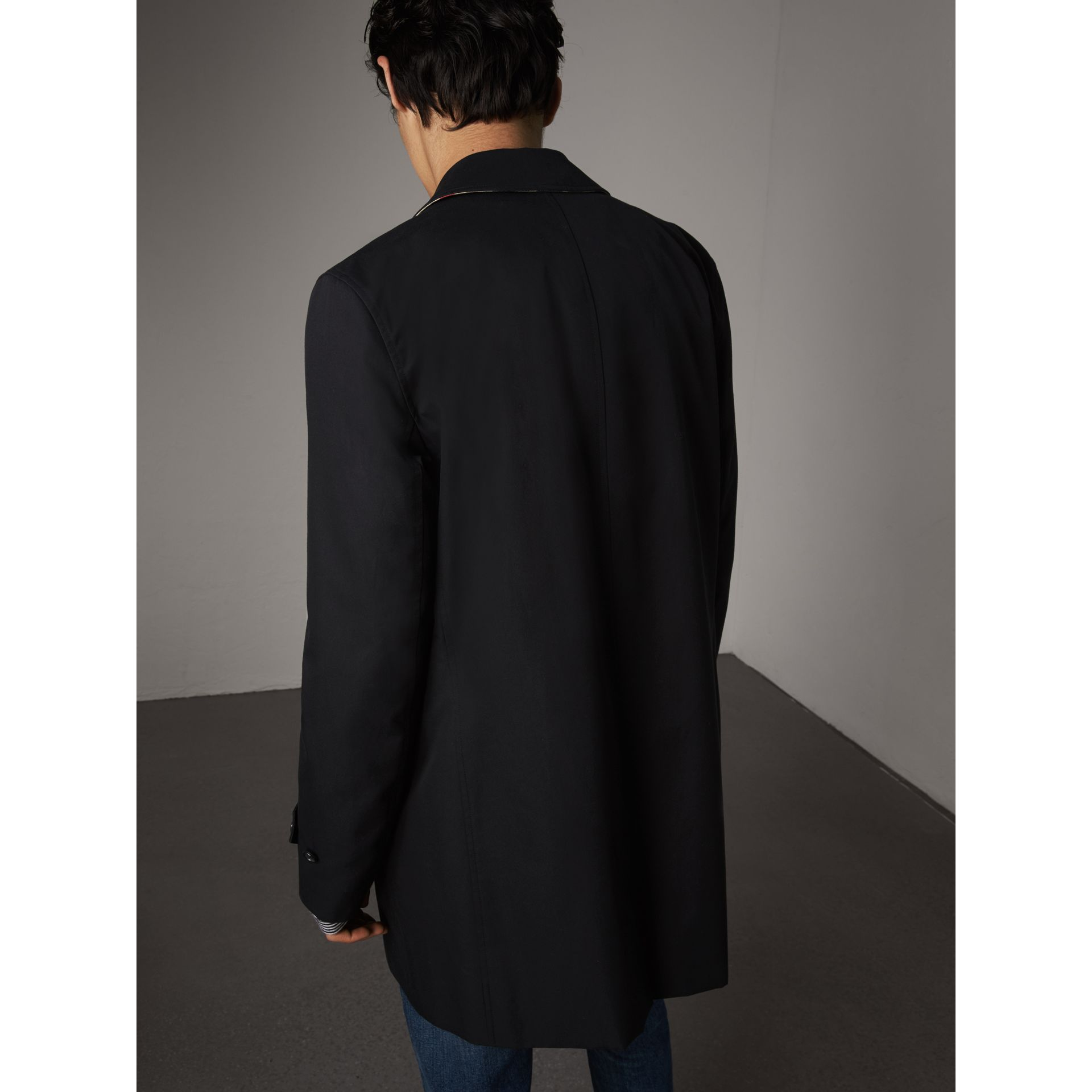 Resin Button Cotton Gabardine Car Coat - Men | Burberry Canada - gallery image 3
