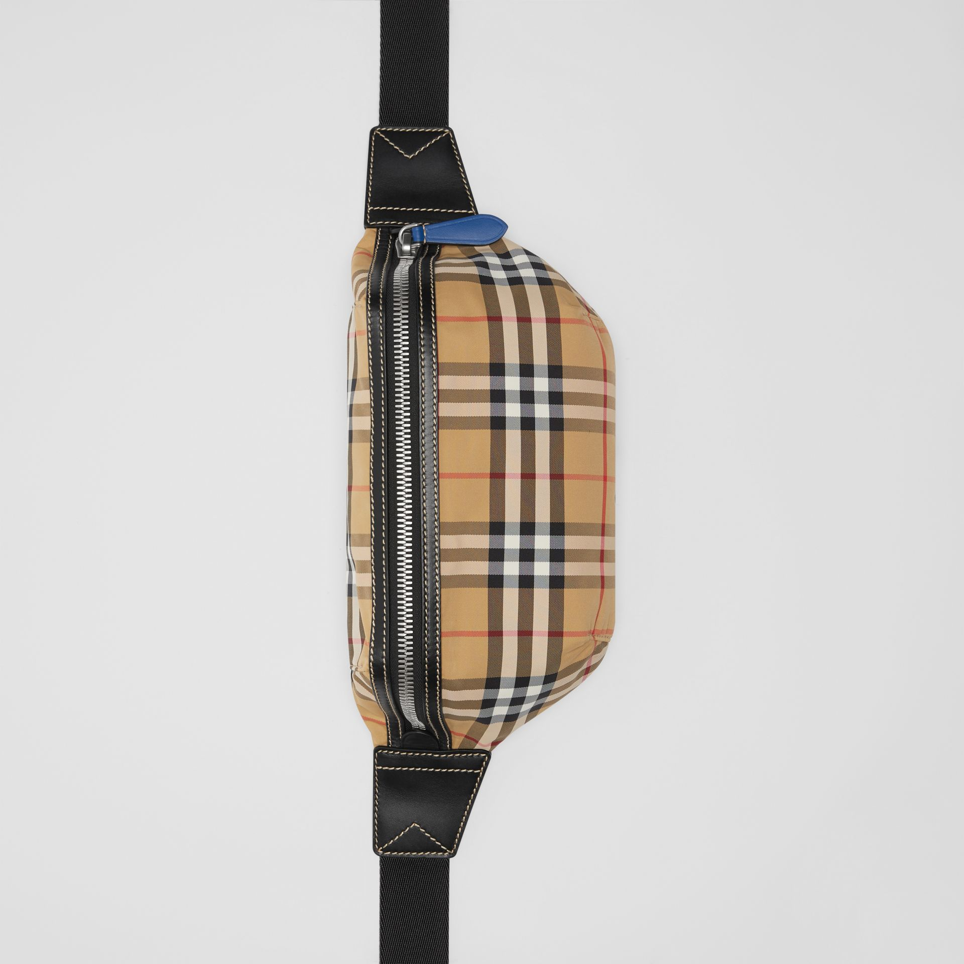 Medium Vintage Check Bum Bag in Antique Yellow | Burberry Singapore - gallery image 2