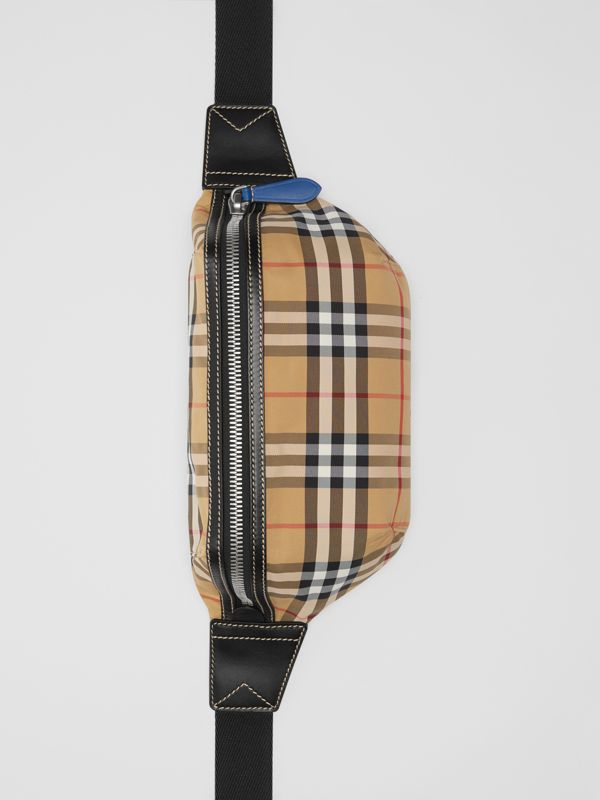 Medium Vintage Check Bum Bag in Antique Yellow | Burberry Singapore - cell image 2