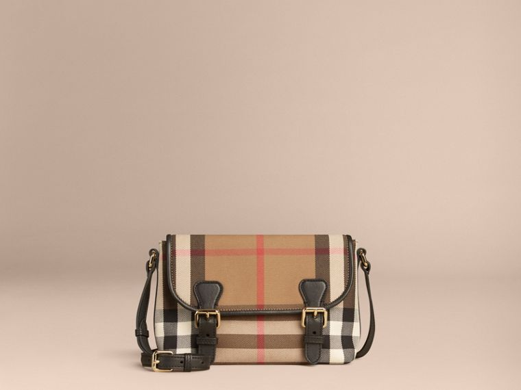 Black House Check Satchel - cell image 1