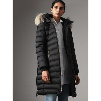 Burberry down coat women