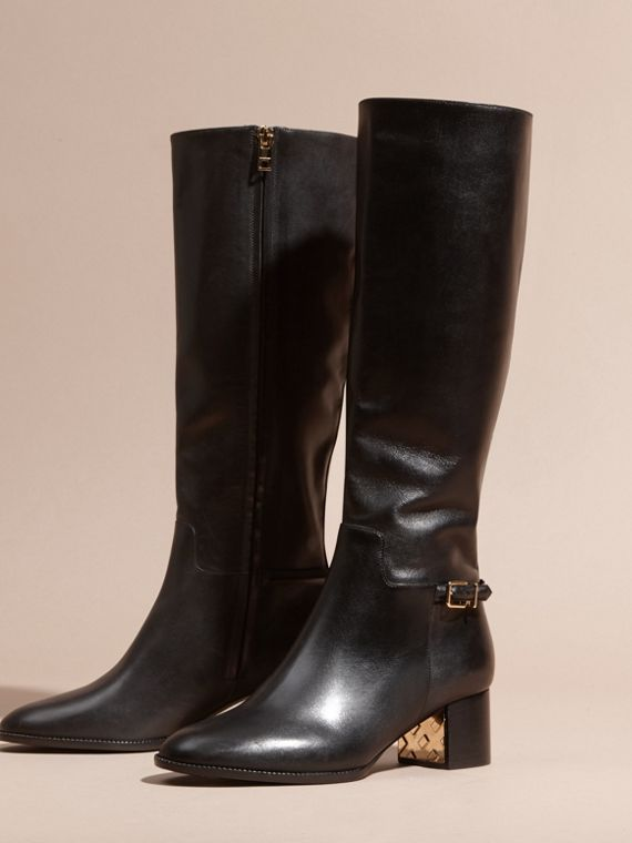 Knee-high Leather Boots - cell image 2