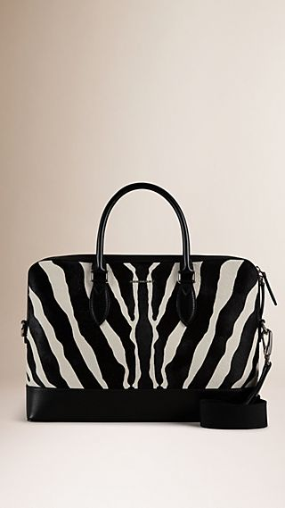 The Barrow aus Kalbfell in Animal Print