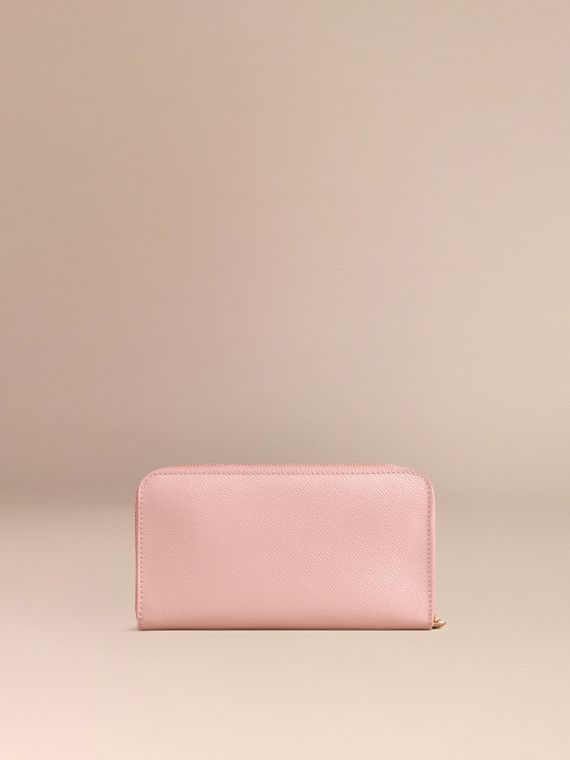 Ash rose Patent London Leather Ziparound Wallet Ash Rose - cell image 3