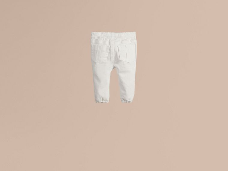 White Stretch Denim Jeans - cell image 2