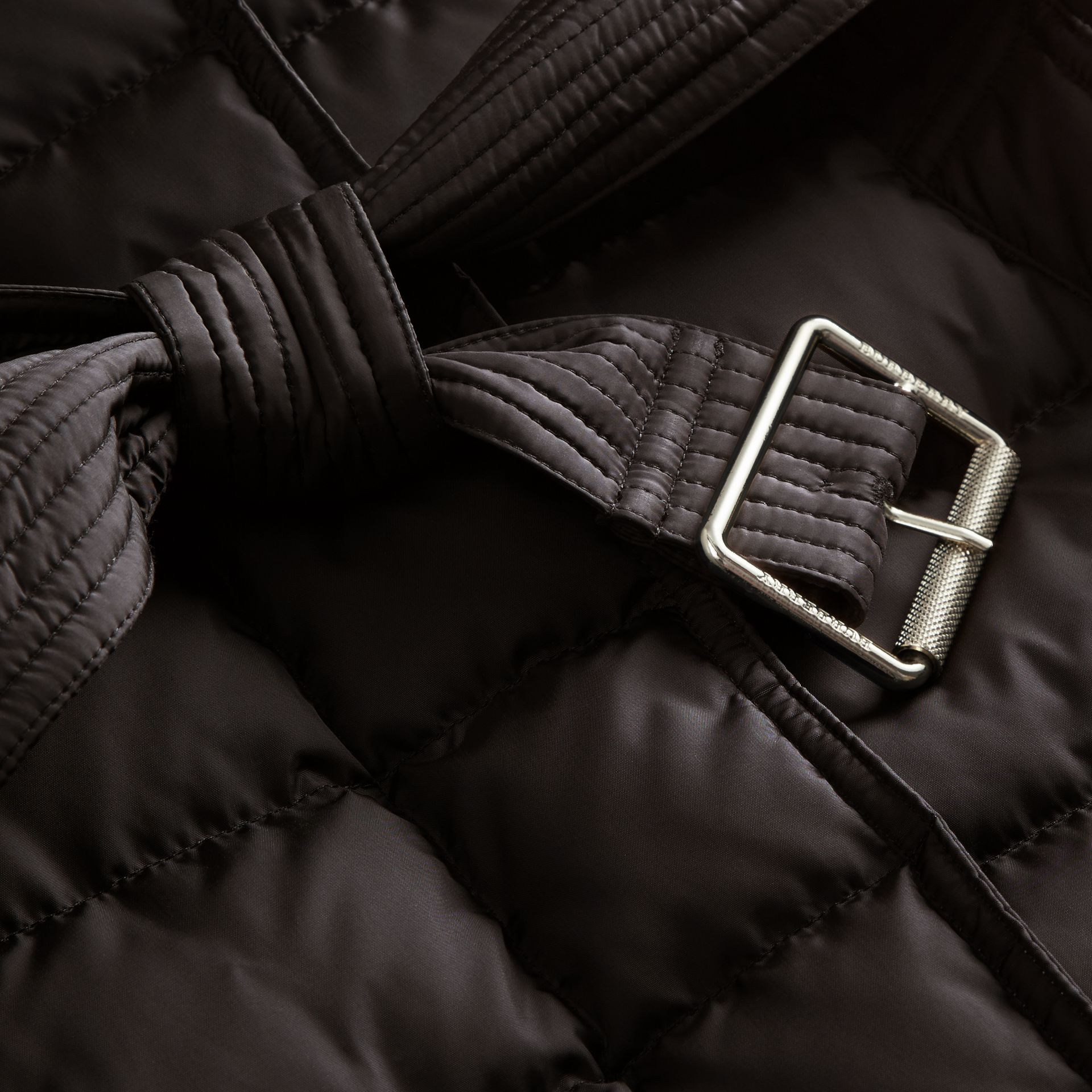 Down-filled Puffer Coat with Packaway Hood - Women | Burberry - gallery image 2