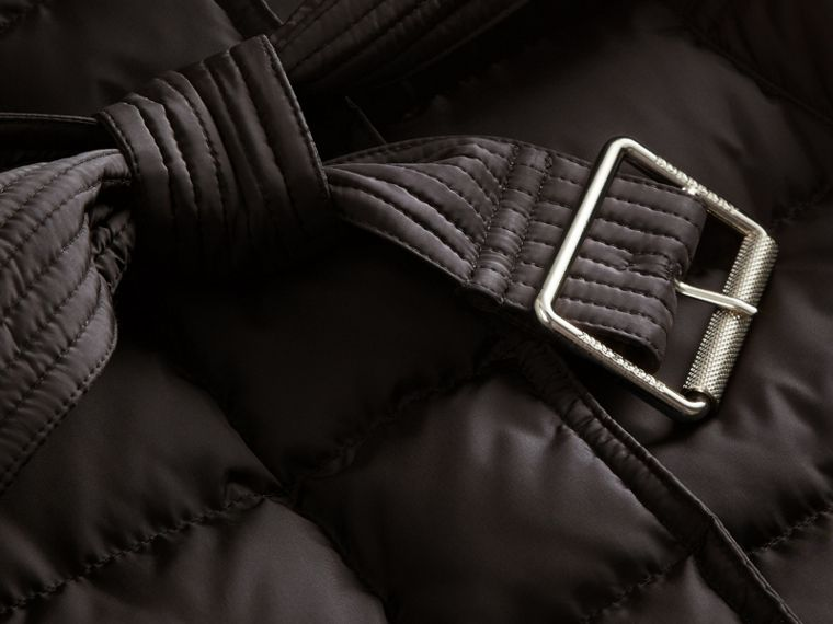 Down-filled Puffer Coat with Packaway Hood - Women | Burberry Canada - cell image 1