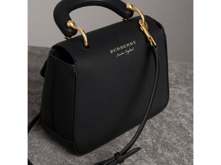 The Small DK88 Top Handle Bag in Black - Women | Burberry - cell image 4