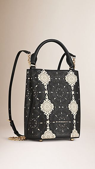 The Bucket Backpack in Lace Leather