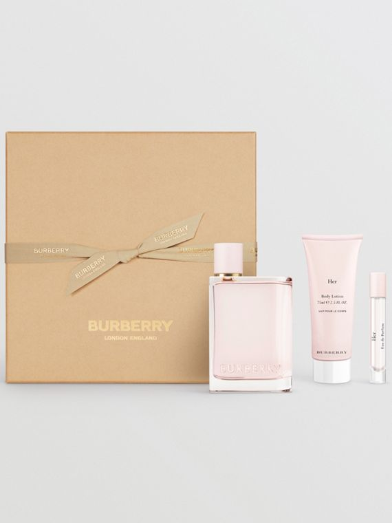 Her Eau de Parfum Gift Set in Honey