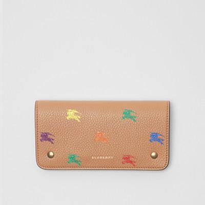 Ekd Leather Phone Wallet in Light Camel