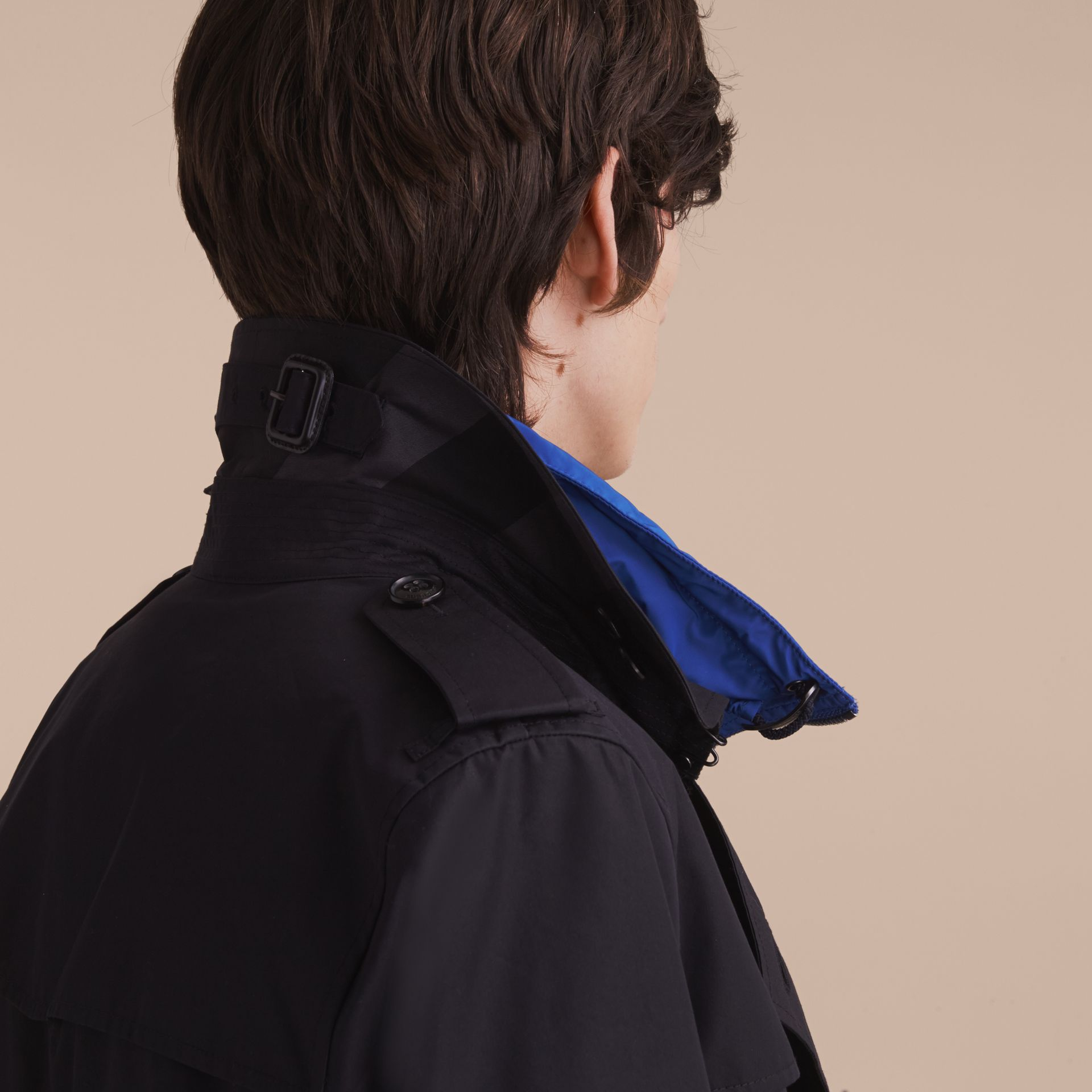 Showerproof Technical Trench Coat with Detachable Gilet - gallery image 6