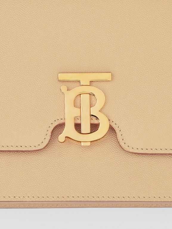 Medium Grainy Leather TB Bag in Archive Beige - Women | Burberry Australia - cell image 1