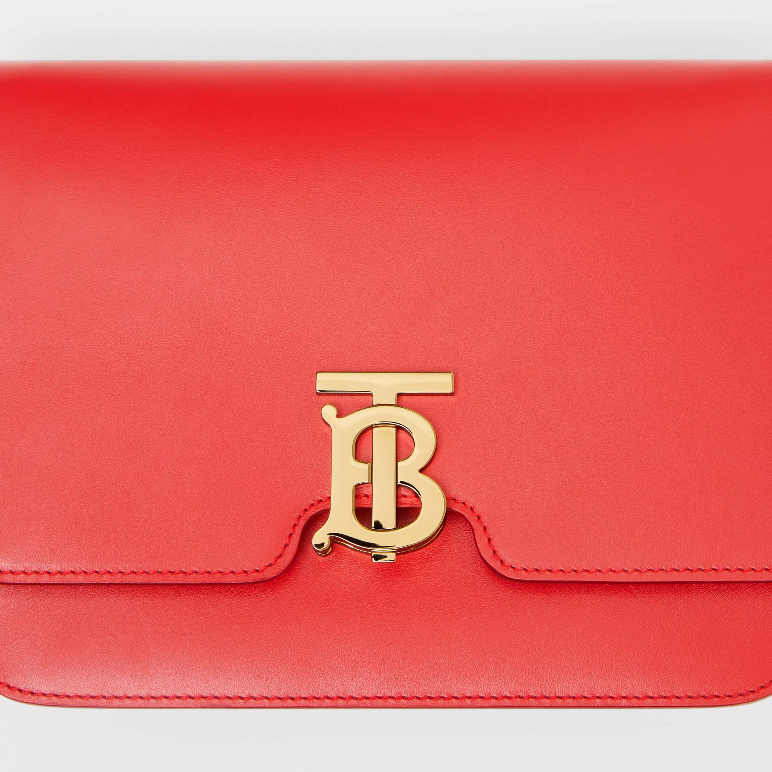 Medium Leather TB Bag in Bright Red - Women | Burberry - 2