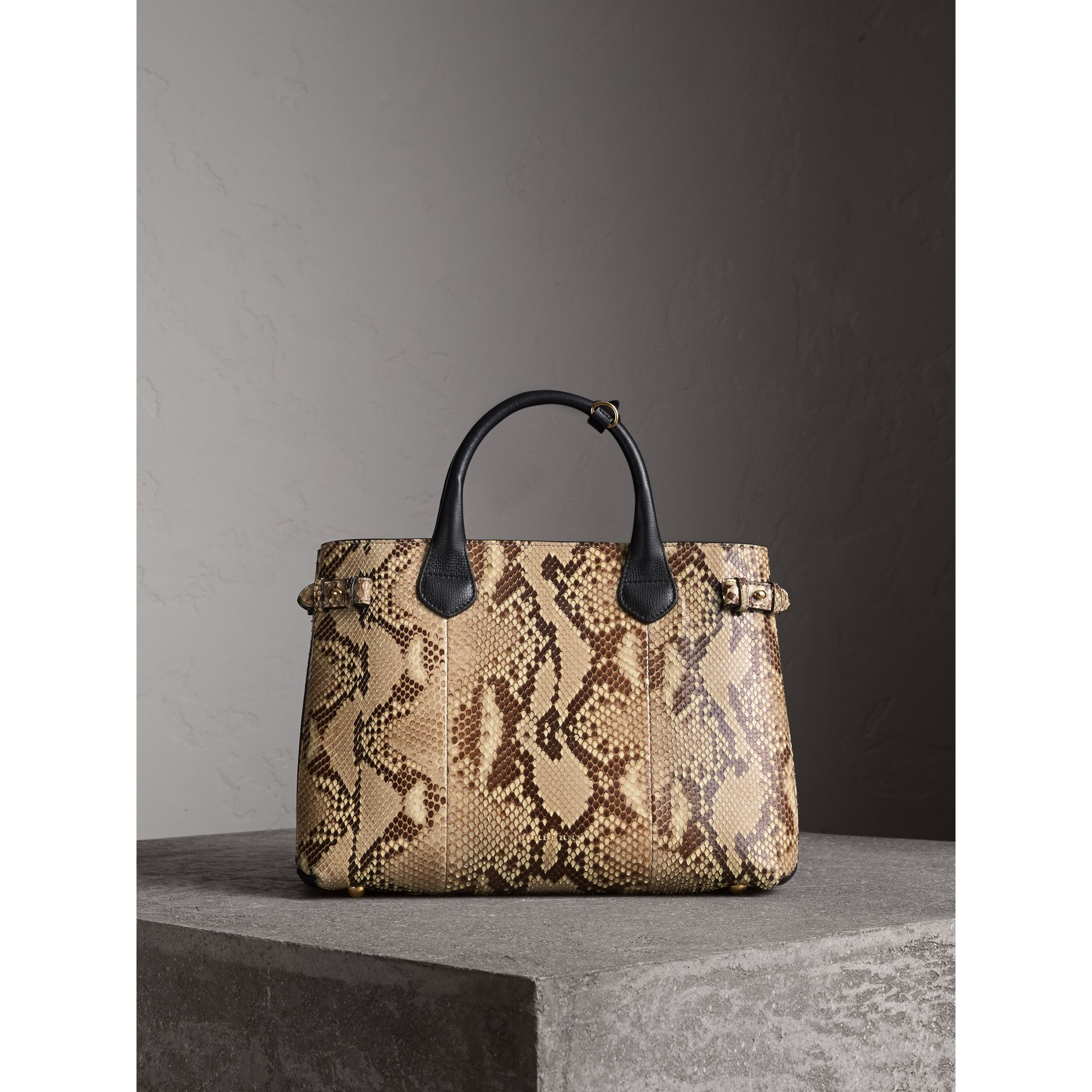 Sac The Banner medium en python - Femme | Burberry - photo de la galerie 8