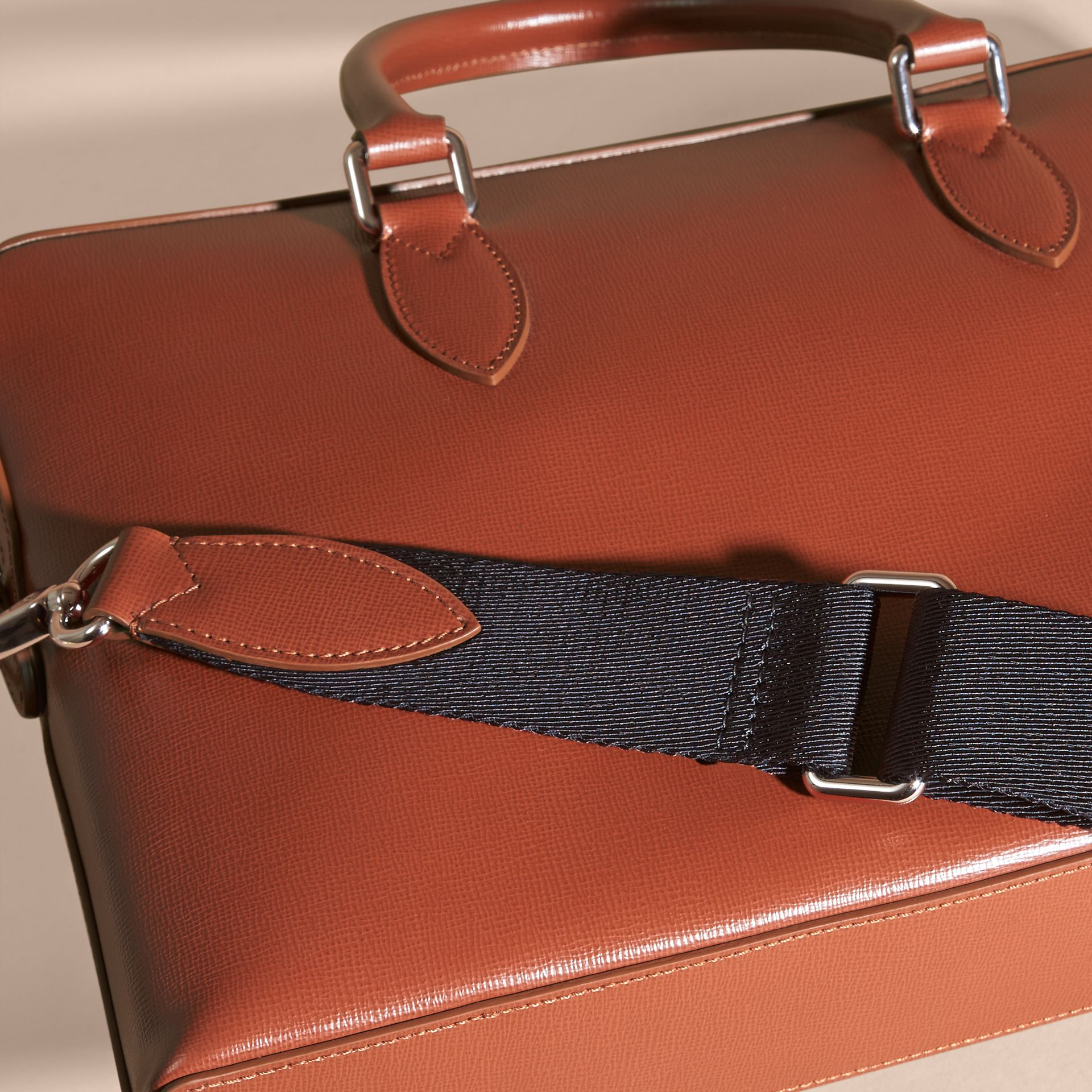 The Slim Barrow in London Leather in Burnt Sienna - gallery image 7