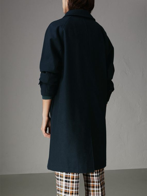 Cashmere Car Coat in Navy - Women | Burberry United States - cell image 2