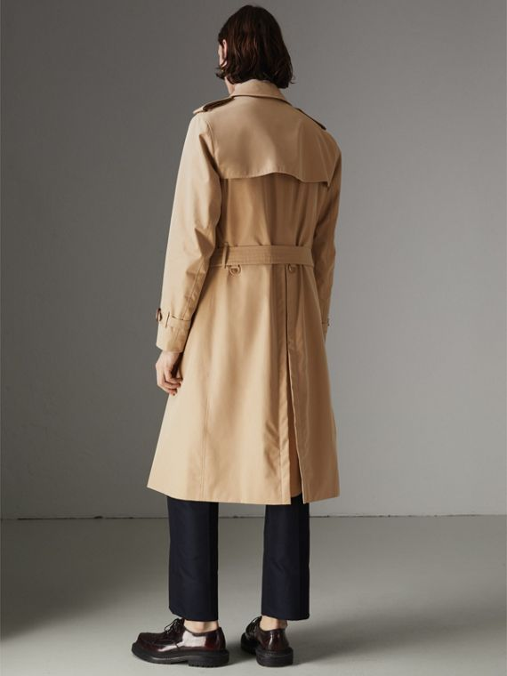 The Long Chelsea Heritage Trench Coat in Honey - Men | Burberry Australia - cell image 2
