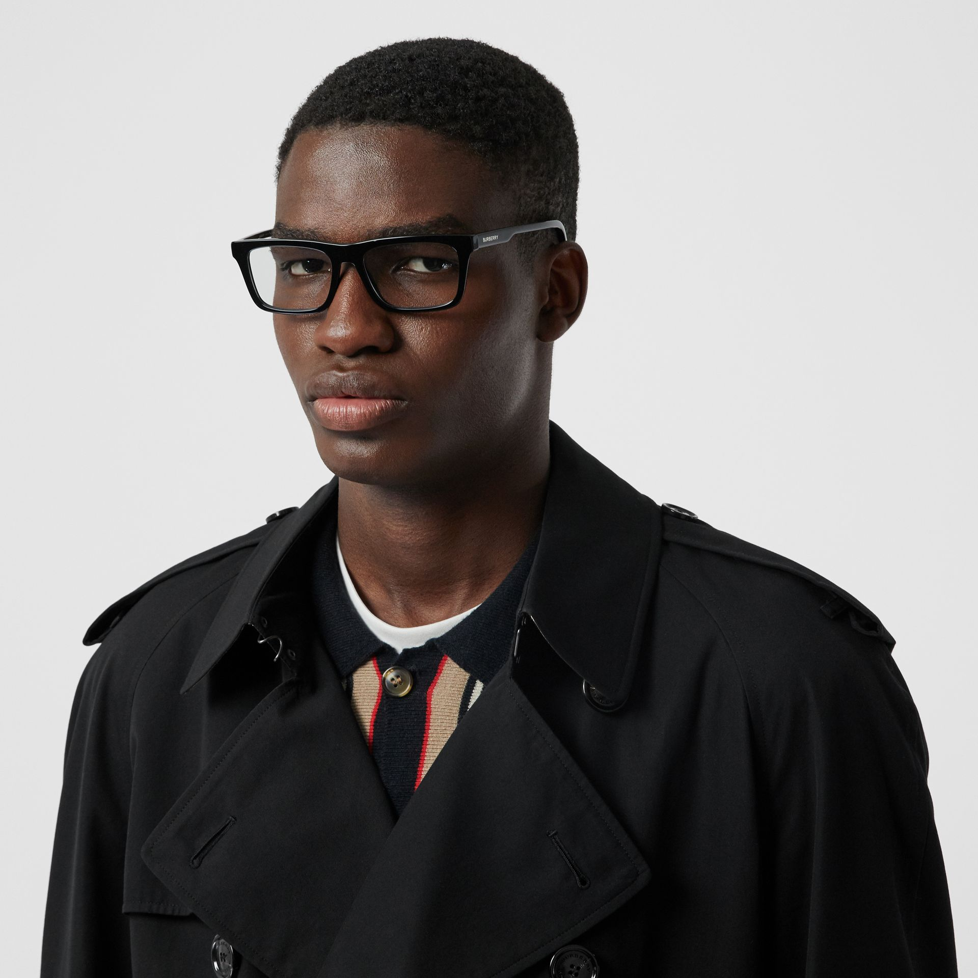 The Westminster Heritage Trench Coat in Black - Men | Burberry United Kingdom - gallery image 1