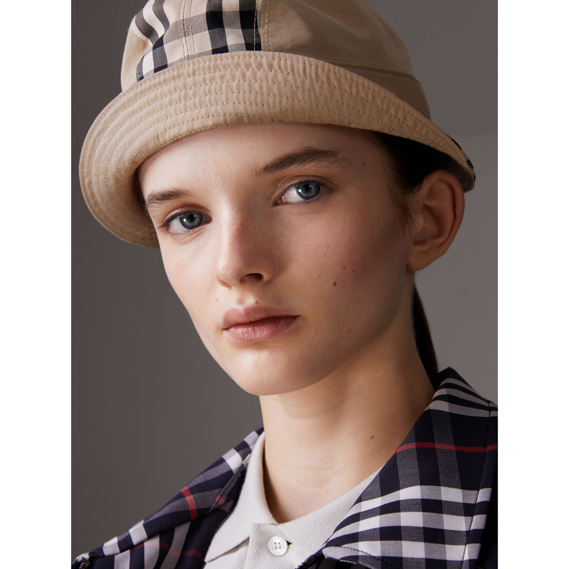 Gosha x Burberry Bucket Hat in Honey | Burberry - gallery image 4