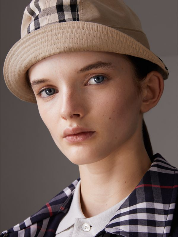 Gosha x Burberry Bucket Hat in Honey | Burberry United Kingdom - cell image 3