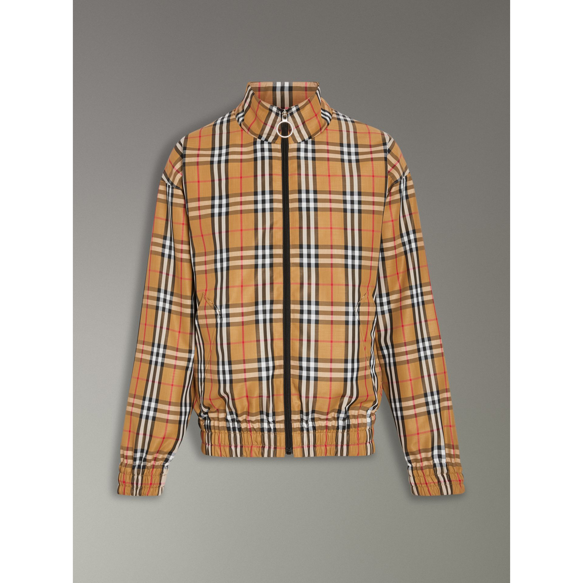 Vintage Check Lightweight Jacket in Antique Yellow - Men | Burberry United Kingdom - gallery image 3
