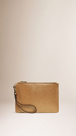 Patent London Leather Pouch