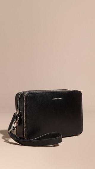 Pochette en cuir London