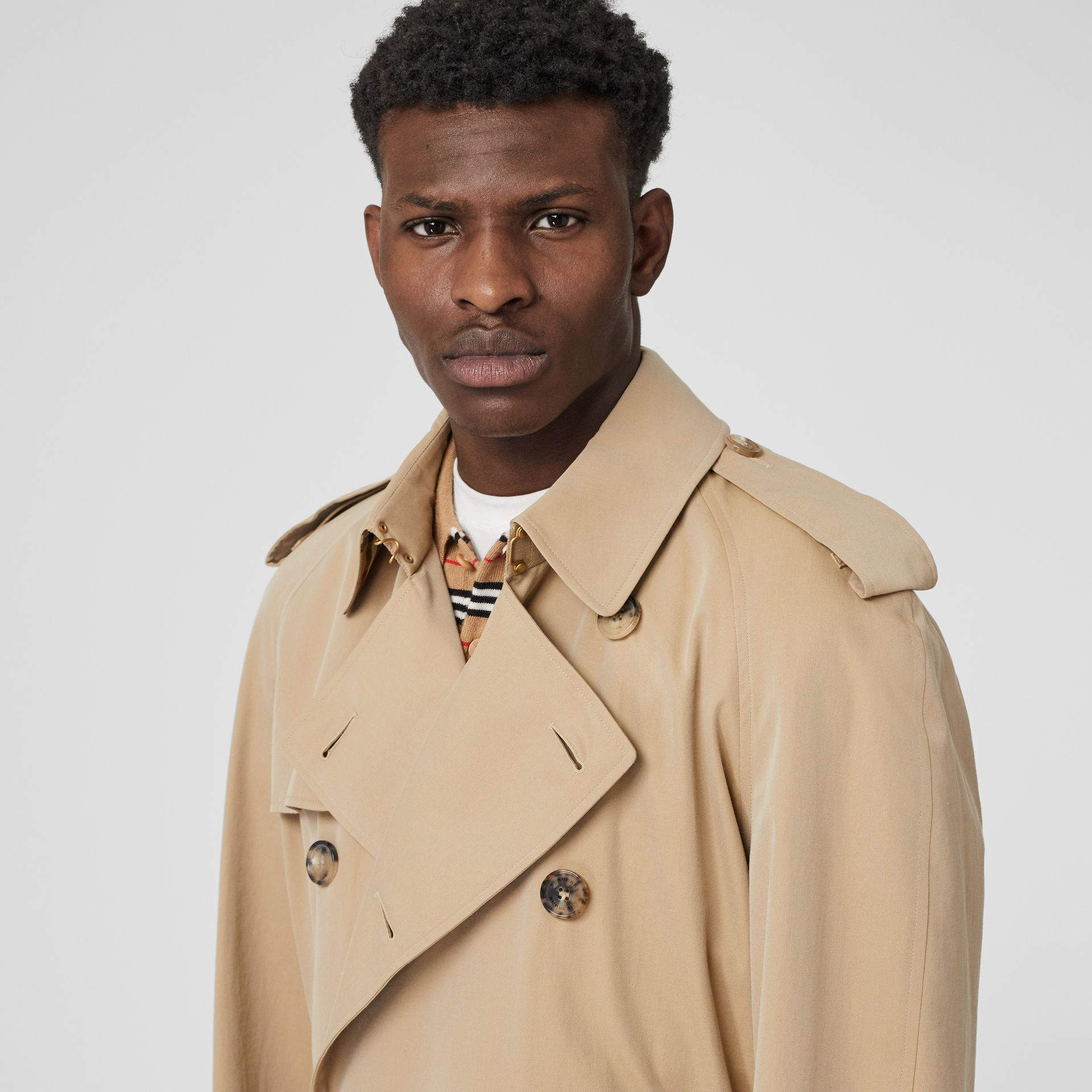 The Westminster Heritage Trench Coat in Honey - Men | Burberry United States - gallery image 1